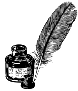feather ink