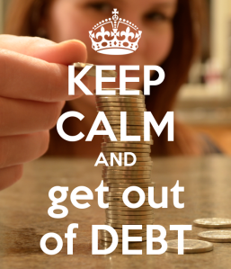 keep calm debt