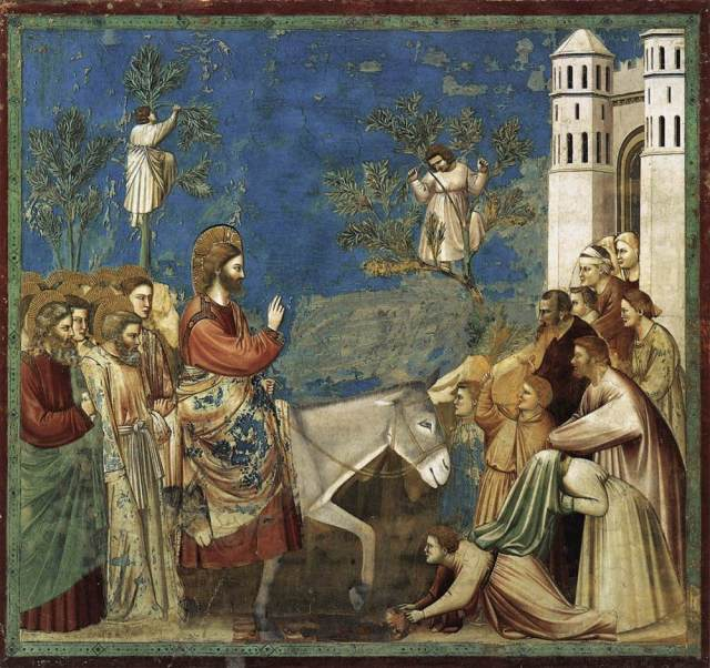 01A1 Giotto De Bondone--Entry-Into-Jerusalem-1304-1306