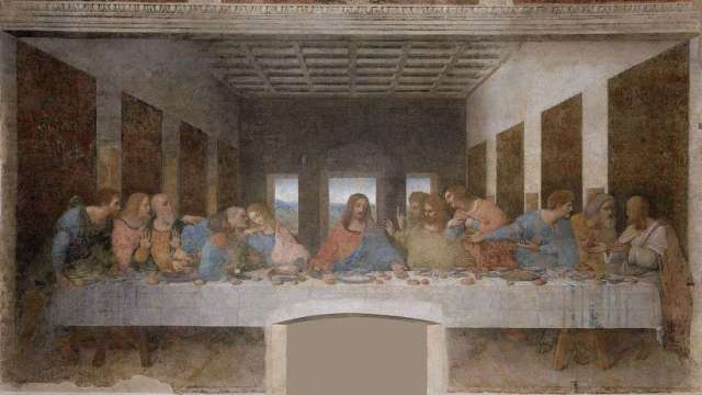 01A2 Da Vinci Last Supper 1495-98