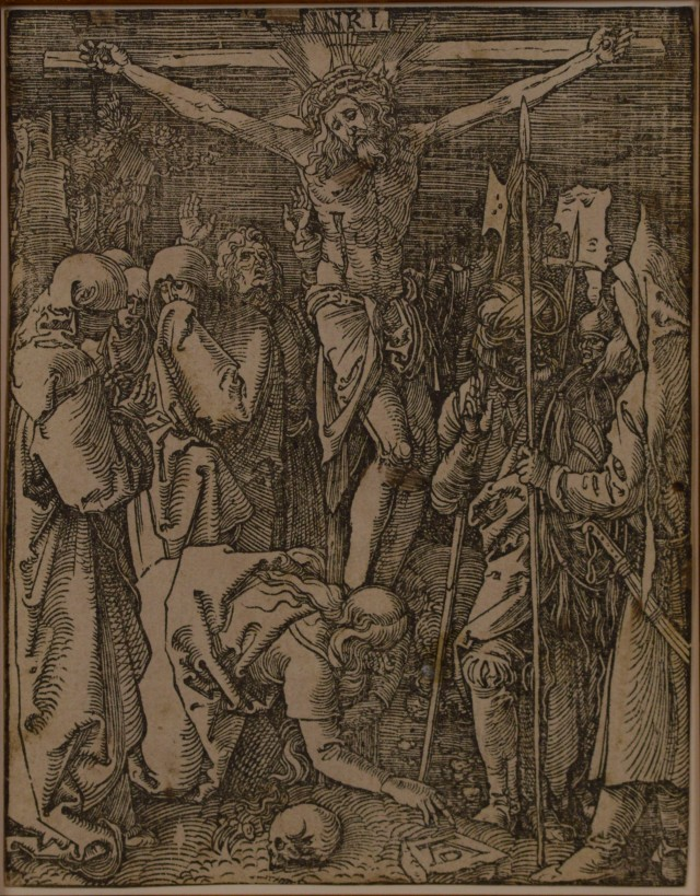 01A3 Durer-woodcut-the-crucifixion-the-small-passion 1509