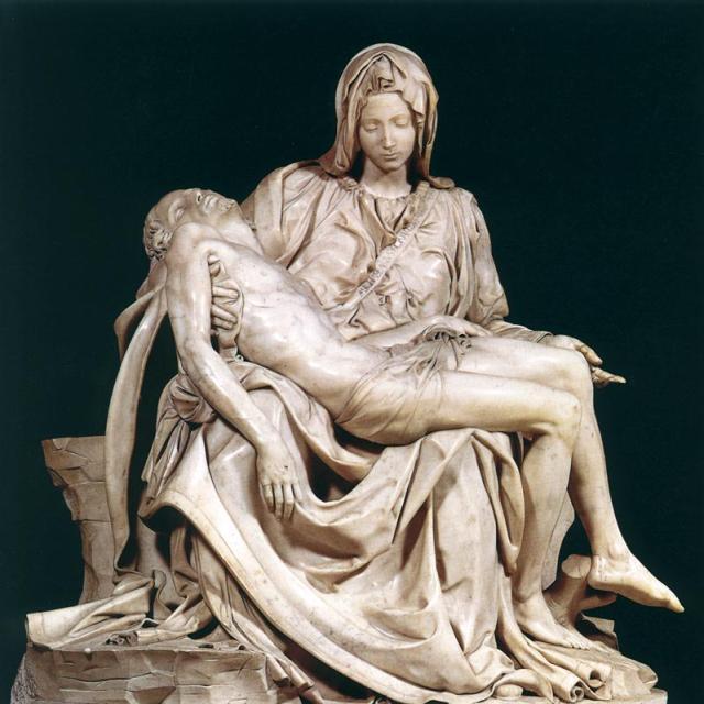 0A Michelangelo Buonarroti, Pieta, 1498-99