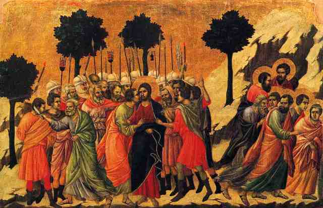 Duccio di Buoninsegna Betrayal 1255–1260 – c. 1318–1319